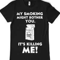 Black T-Shirt | Funny Cigarette Shirts