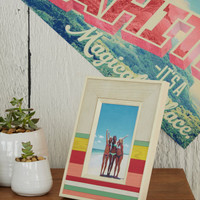 Striped Picture Frame - Aeropostale
