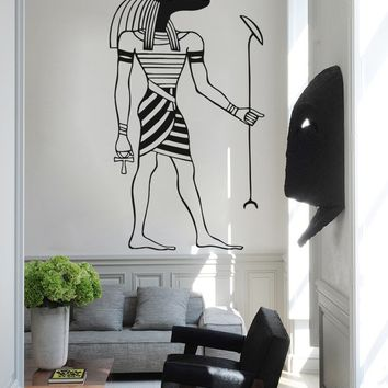ik991 Wall Decal Sticker egyptian god anubis protector Egypt living bedroom