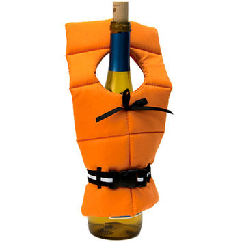 WINE BOTTLE LIFE PRESERVER COVER