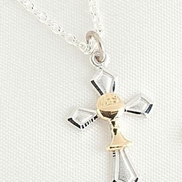 2 Cross Necklaces - Gift Box Included