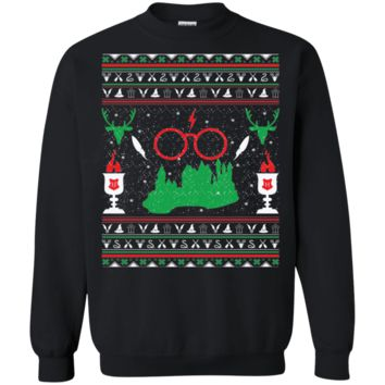 Gift for Fans of Harry Potter Ugly Christmas Sweater