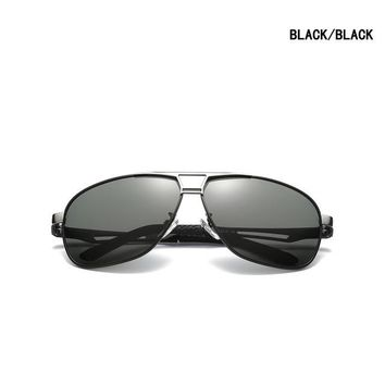 2018 Sports Sunglasses Men Polarized Discoloration HD Goggles Male Anti Glare Driving Glasses Brand Design Eyewear