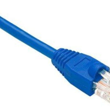 Unirise Usa, Llc Cat5e Shielded Gigabit Ethernet Patch Cable, Utp, Blue, Snagless, 75ft