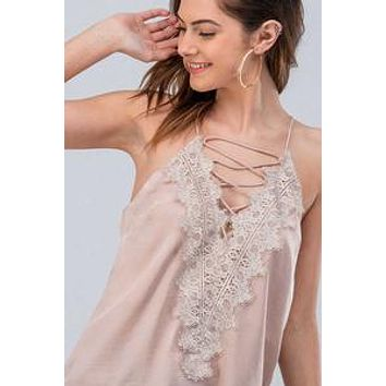 Lace Me Up Camisole