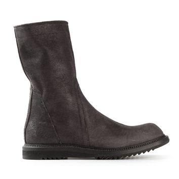 Rick Owens side zip boots