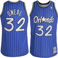 Mitchell & Ness Shaq O'neal 1994 Authentic Jersey Orlando Magic In Blue