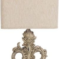 Keo Traditional Table Lamp Painted Tan