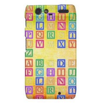 Block Letters Case-Mate Motorola Case