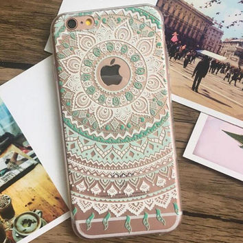 Unique Lace iPhone 7 se 5s 6 6s Plus Case Cover-0324