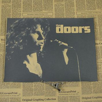 Doors the A Mend rock music retro Kraft Poster