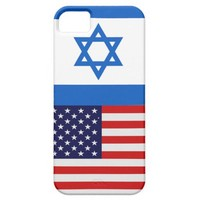 America/Israel Flag iPhone 5 Case from Zazzle.com