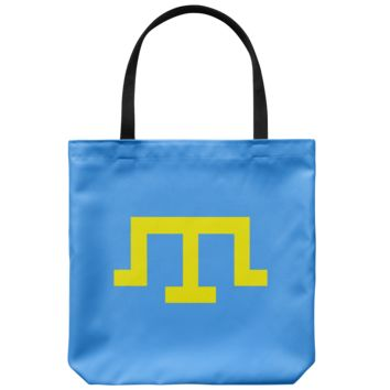 Tamga of Crimean Tatar Giray Dynasty - Tote Bag