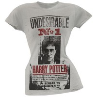DCCKU3R Harry Potter - Wanted Poster Juniors T-Shirt