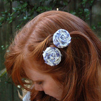 Choose your color, size, amount and style Custom Rustic Roses Hair Accessories