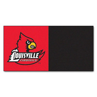 Louisville Cardinals NCAA Team Logo Carpet Tiles