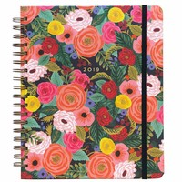 2019 Large Spiral Juliet Rose 17-Month Planner