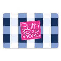 Blue Gingham Gift Card