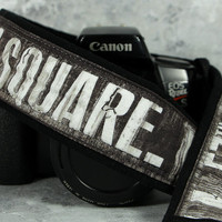 Subway Signs Camera Strap, Times Square, New York, Urban Explorer,  Grunge, dSLR, SLR, 208