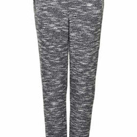 Luxe Marl Mix Joggers - Grey