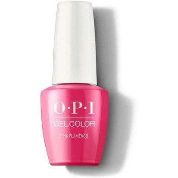 OPI GelColor - Pink Flamenco 0.5 oz - #GCE44