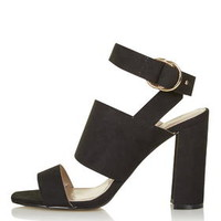 MONICA Block Heel Sandals - New In