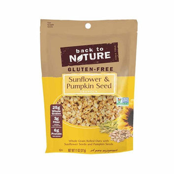 Back To Nature Sunflower and Pumpkin Seed Granola -6x11 OZ-