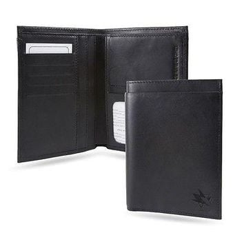 San Jose Sharks NHL RFID Blocking Traveling Passport Leather Wallet