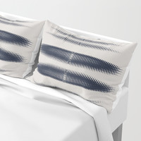 Almost Cozy glitch Pillow Sham by duckyb