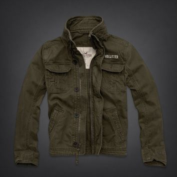 HOLLISTER (Hollister) military jacket product name: Pearl Street Jacket
