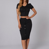 Be You Skirt - Black