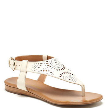 Arturo Chiang Karena Vachetta Leather Sandals
