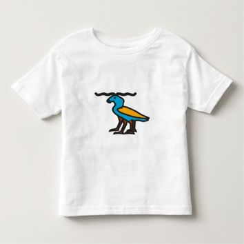 Blue strange animal toddler t-shirt