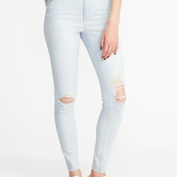 High-Rise Secret-Slim Rockstar Ankle Jeans for Women | Old Navy