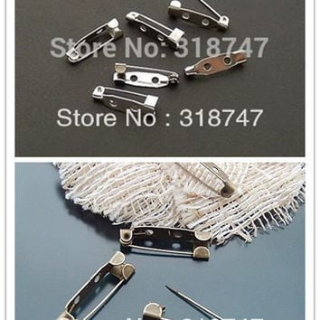 24pcs 20MM Nickel-plated iron vintage jewelry pins and brooches adhesive safety pin garment Garment accesories D079010007