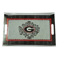 Georgia Melamine Rectangular Tray | UGA Rectangular Tray | Georgia Bulldogs Rectangular Tray