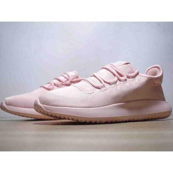 ADIDAS TUBULAR SHADOW Men's and Women's Fashion Casual Sports Running Shoes F-CSXY pink