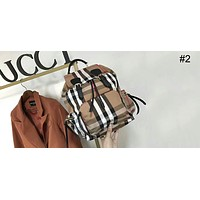 Burberry counter stylish trendy female backpack rainbow stripes fashion style F-AGG-CZDL #2