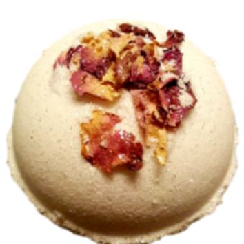 ROSE IN BLOOM COCOA BUTTER BATH BOMB