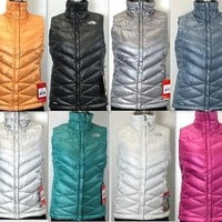 New The North Face Women's Aconcagua Vest 550-Fill Goose Down - Style # CLE7