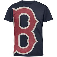 Boston Red Sox - Overgrown Logo Soft T-Shirt