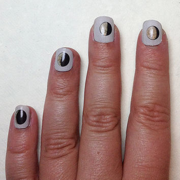 Moon Phase Nail Decals by IHeartNailArt on Etsy