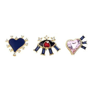 RHONDIA - Love Brooch Set
