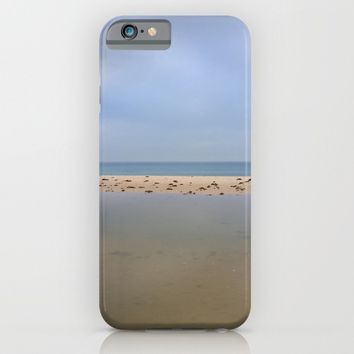 """Peace..."" Lake, sand, sea and sky... iPhone & iPod Case by Guido Montañés"