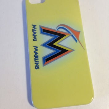 Miami Marlins phone cover for the Iphone 5 5s