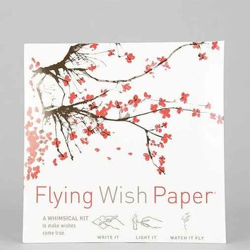 Flying Wish Paper DIY Kit- White One