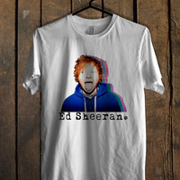 Ed Sheeran blue hoodie T-Shirt for man shirt, woman shirt XS / S / M / L / XL / 2XL / 3XL *AR*
