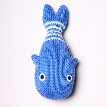 Organic Whale Rattle - Baby Toys