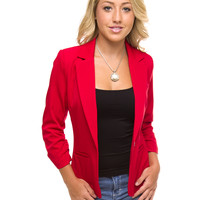 Monica Blazer - Red
