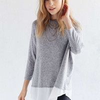 BDG Kyle Cozy Pullover Shirt - Urban Outfitters